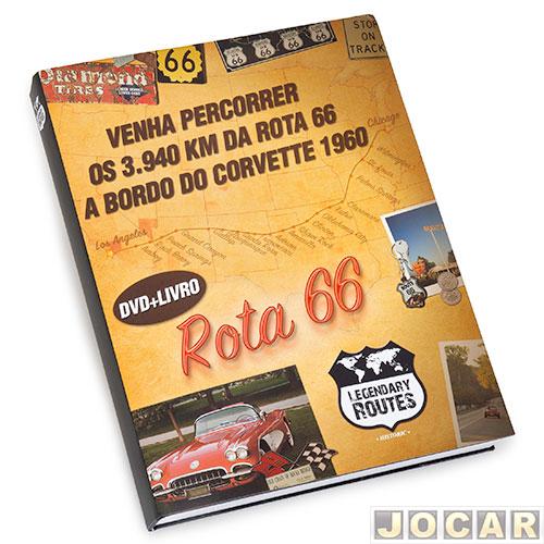 Livro Auto+ Legendary Routes 66 – com DVD – os 3.940 km da Rota 66 c6ccc73b903f9