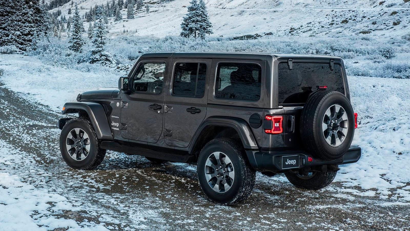 Jeep Wrangler Sahara (divulgação) f49ebb3d2a04b