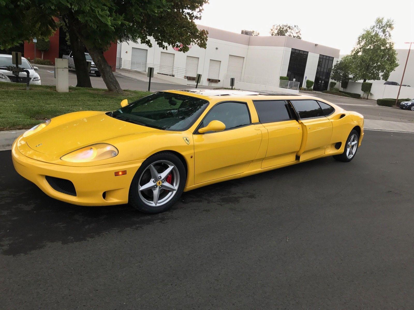 Conheca Essa Exotica Ferrari 360 Modena Limousine Automais