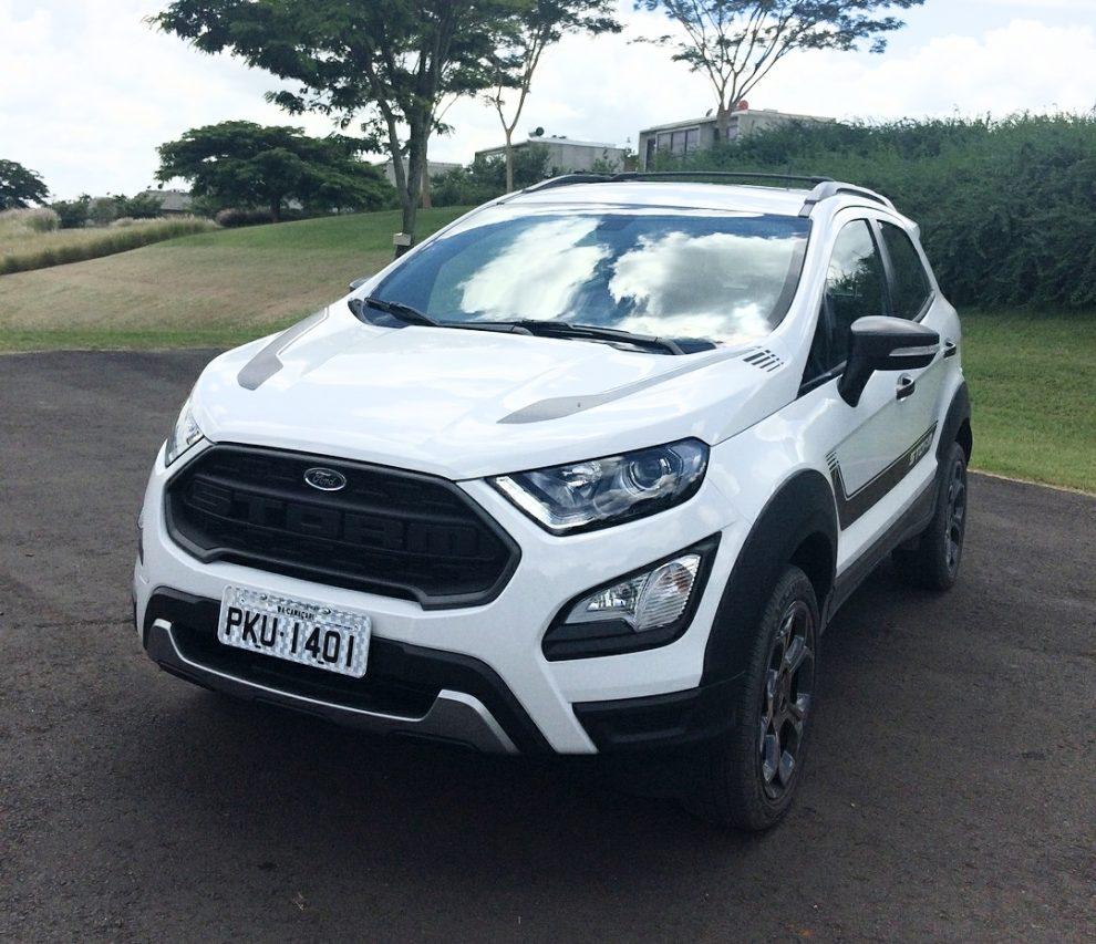 Ford Lanca Novo Ecosport Storm Com Tracao Integral Automais