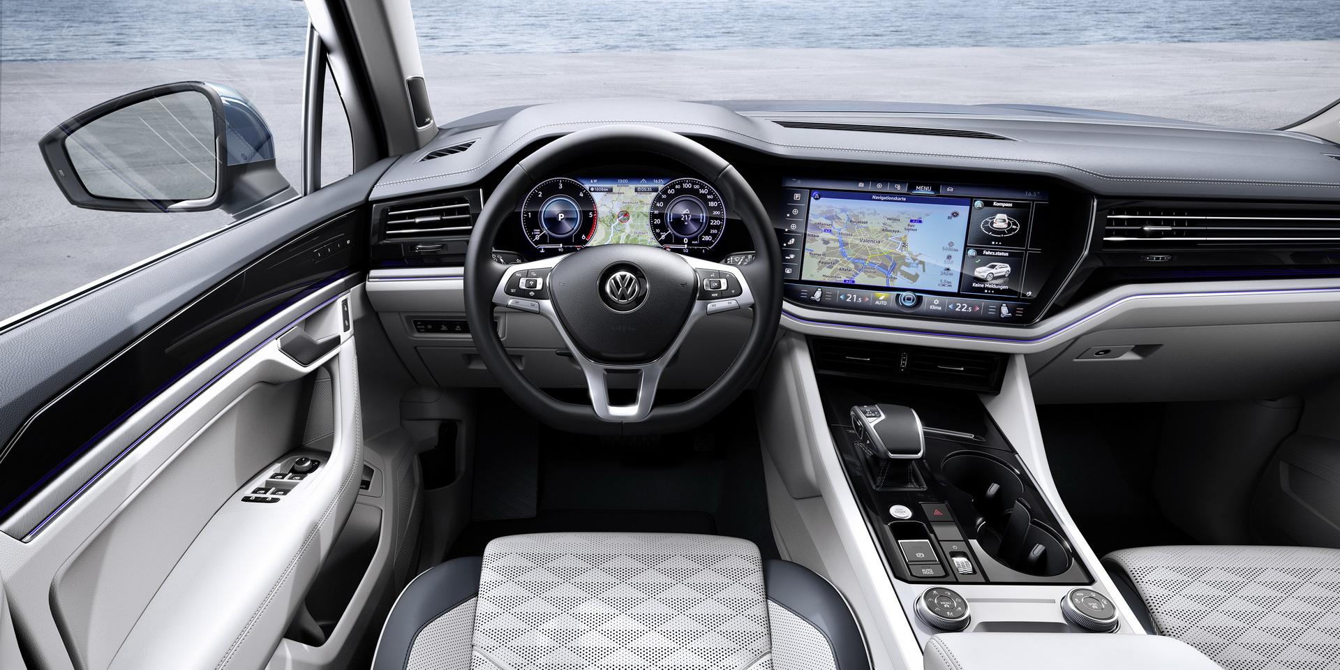 Novo Volkswagen Touareg Mais Luxuoso E Muito Equipado Automais