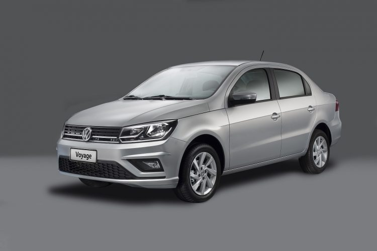 VW Voyage [divulgação]
