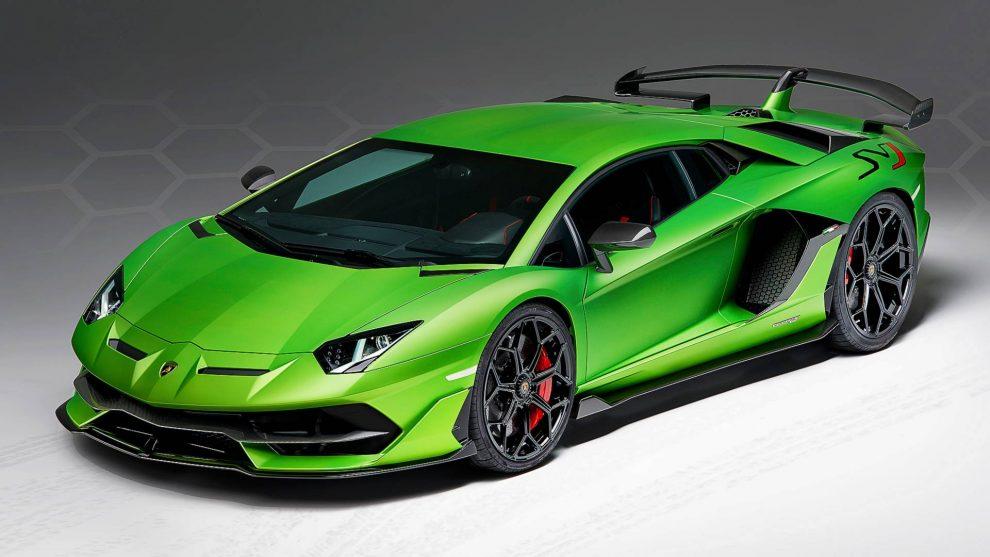 Lamborghini Aventador SVJ (divulgação)
