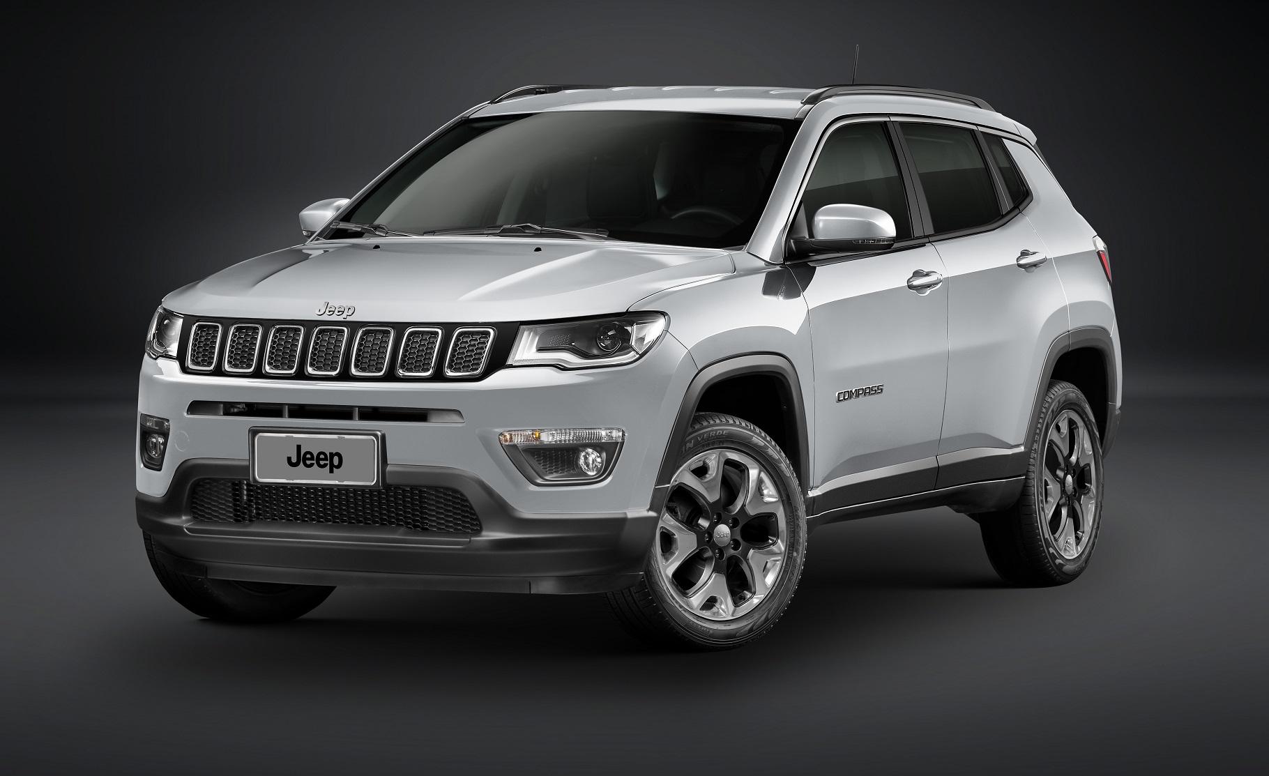 Jeep Compass fica mais equipado na linha 2019 - Automais