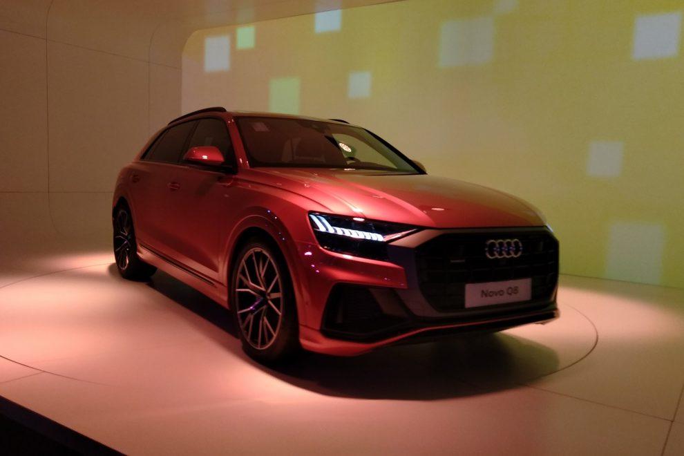 Audi Q8 é o maior destaque da marca durante o Salão - Automais 98799489b1912