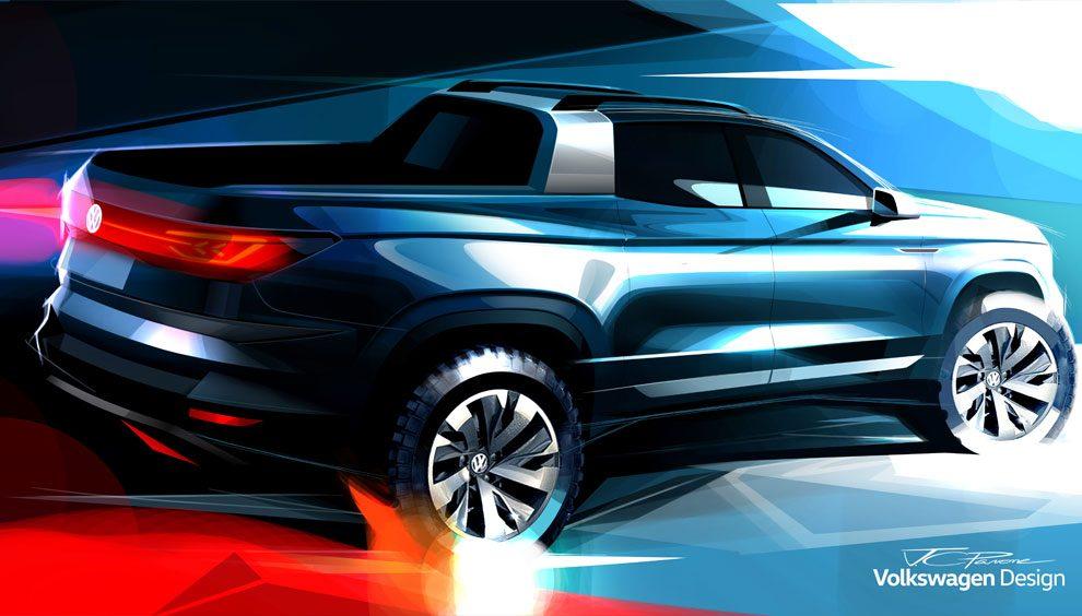 Volkswagen vai apresentar picape para brigar com Fiat Toro no Salão do  Automóvel 7a2712799d681