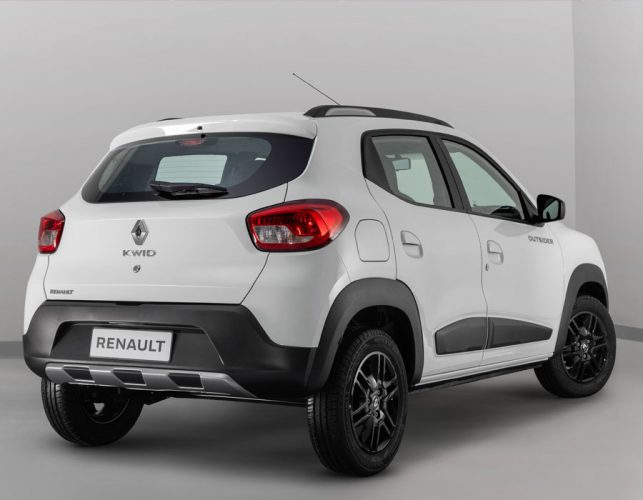 Renault Kwid Outsider [divulgação]