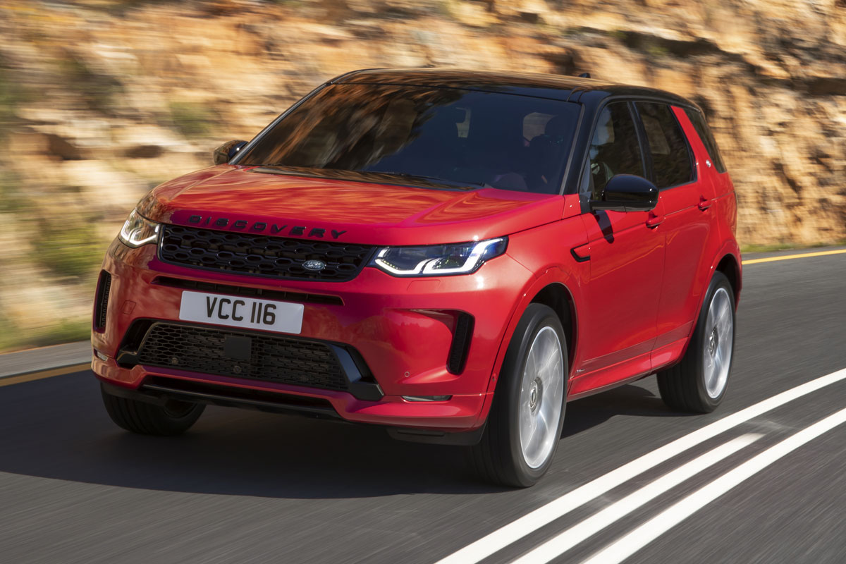 land rover discovery sport recebe facelift na europa. Black Bedroom Furniture Sets. Home Design Ideas