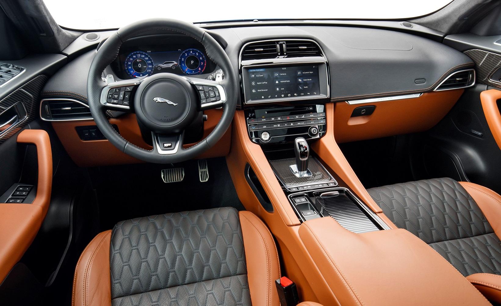 Jaguar F Pace Svr Automais