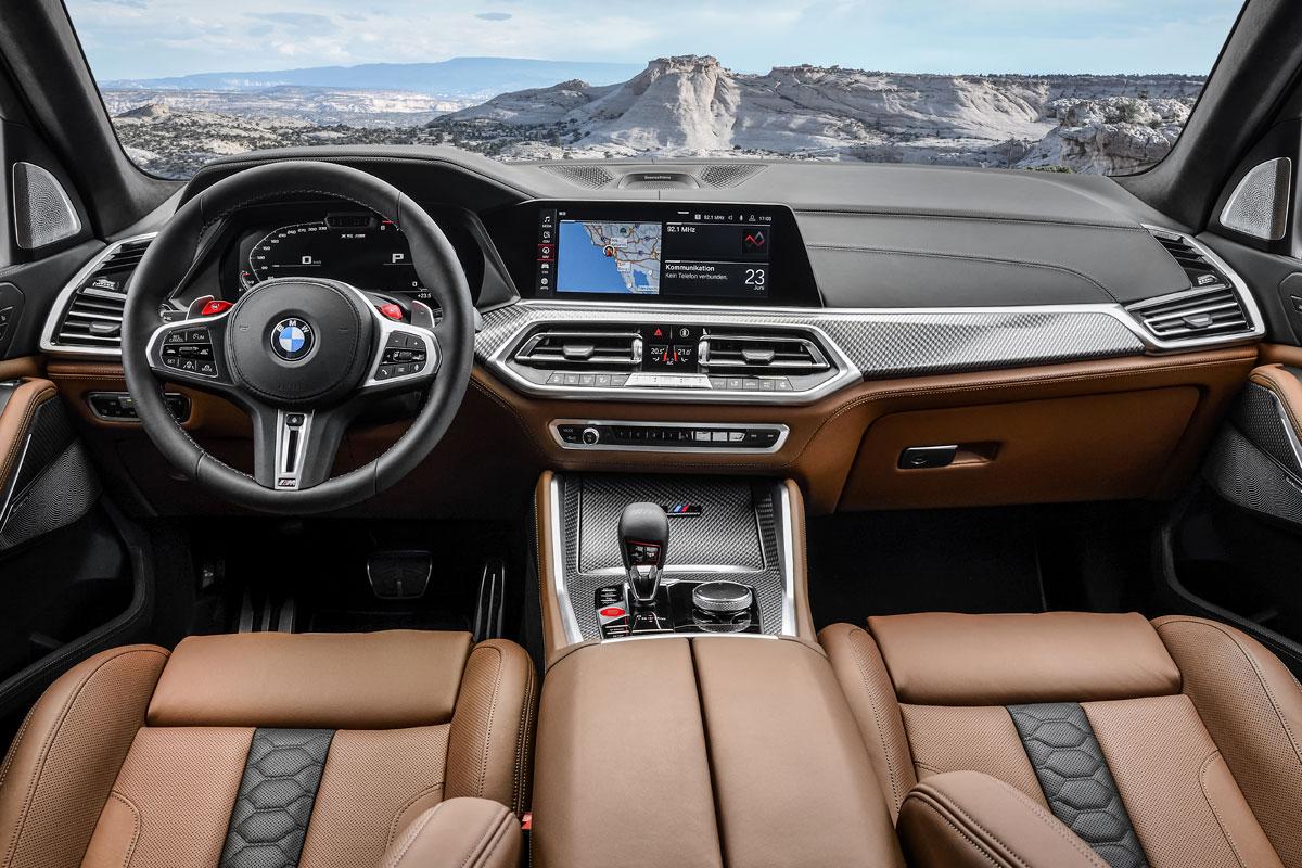 Bmw Lanca Novos X5 M E X6 M Com Mais De 600 Cv Automais