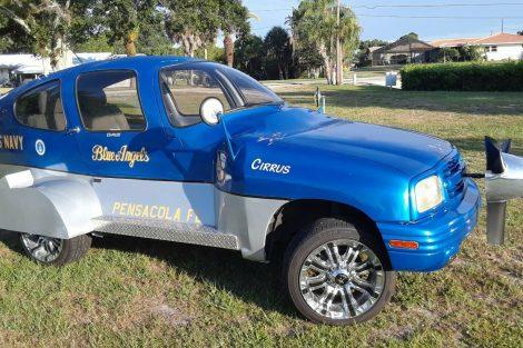 Chevrolet Tracker Avião