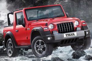 Mahindra Thar, o mini Jeep Wrangler [divulgação]