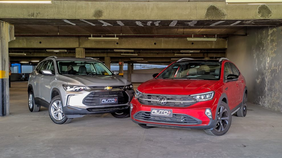 Comparativo Chevrolet Tracker LT e Volkswagen Nivus Highline [Auto+]