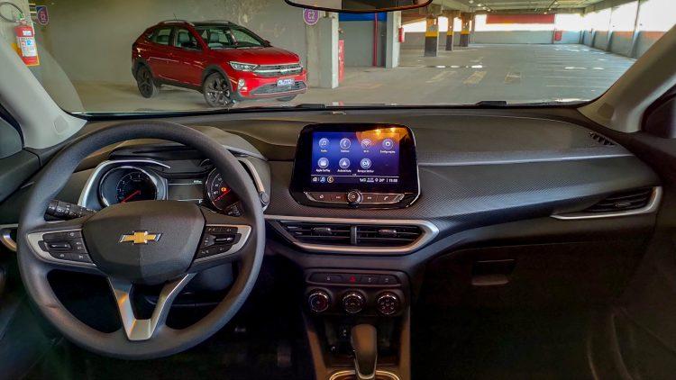 Interior Chevrolet Tracker LT [divulgação]