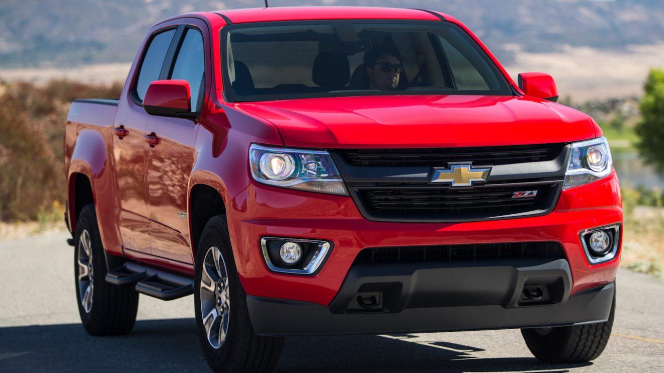 Chevrolet Colorado americana [divulgação]