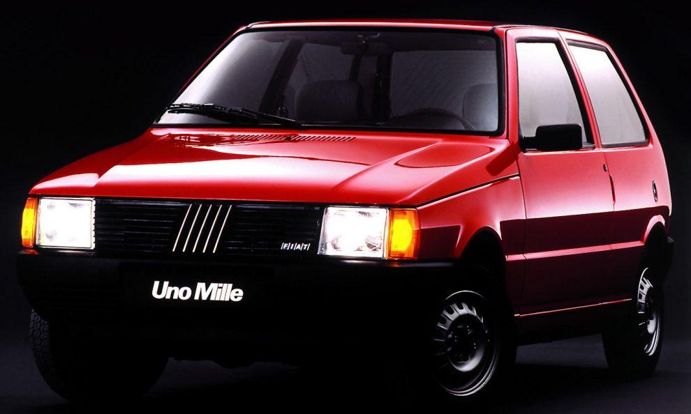 Fiat Uno Mille [divulgação] carros brasil