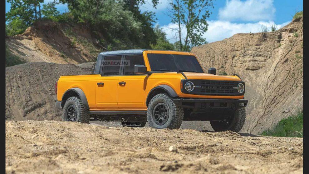 Ford Bronco Picape