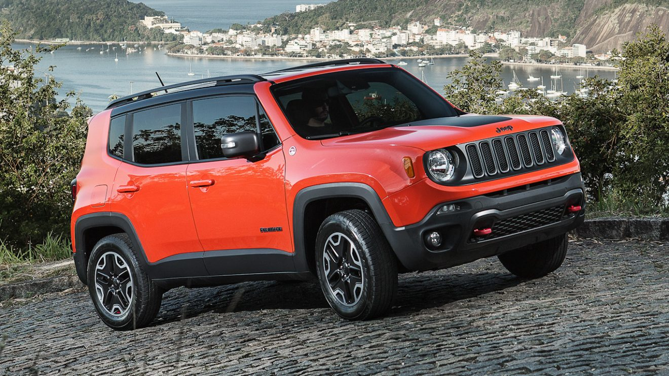 Jeep Renegade [divulgação] carros brasil
