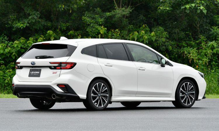 Subaru Levorg [divulgação]