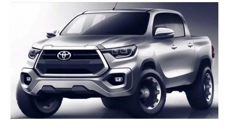 Toyota Hilux sketches [divulgação]