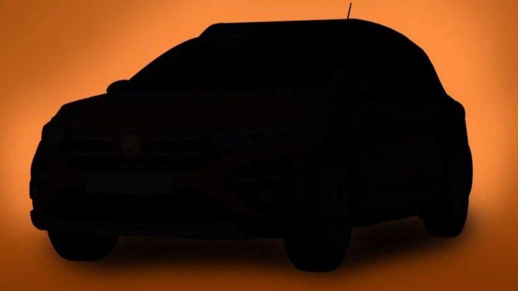 Dacia Stepway 2021 teaser [divulgação]