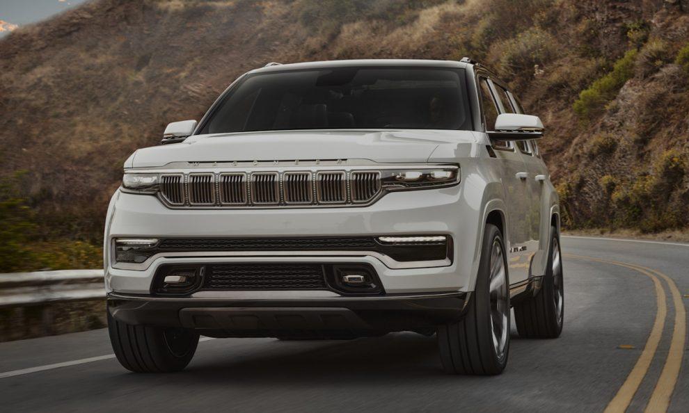Jeep Grand Wagoneer [divulgação]