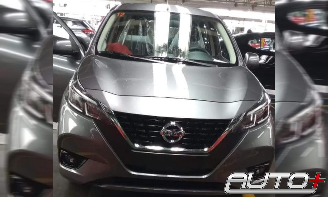 Velho Nissan March Ganhara Frente De Versa E Kicks Em Reestilizacao