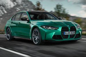 BMW M3 2021 [divulgação]