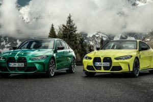 BMW M3 e M4 2021 [divulgação]