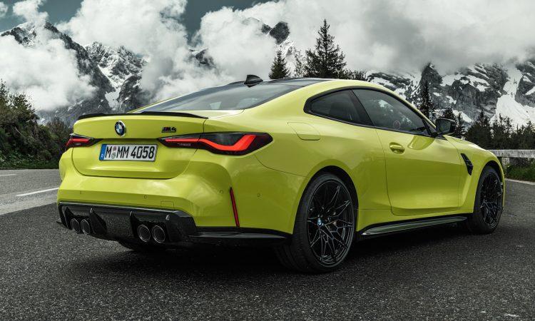 BMW M4 2021 [divulgação]