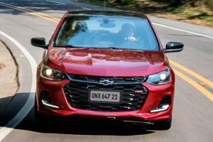 Chevrolet Onix RS [divulgação]