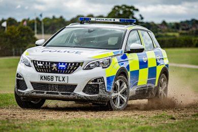 Peugeot 3008 Polícia [divulgação]
