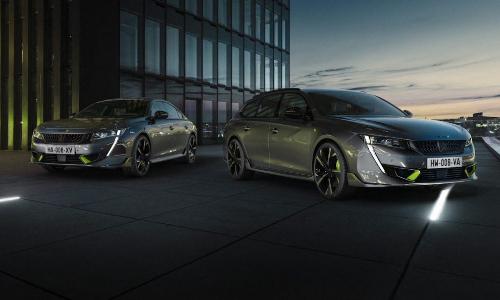 Peugeot 508 PSE e 508 SW PSE [divulgação]