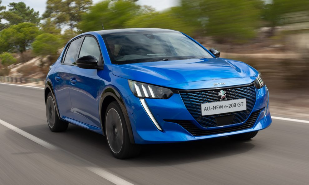 Peugeot e208 [divulgação]