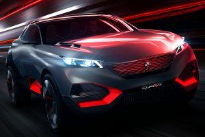 Peugeot Quartz Concept [divulgação]