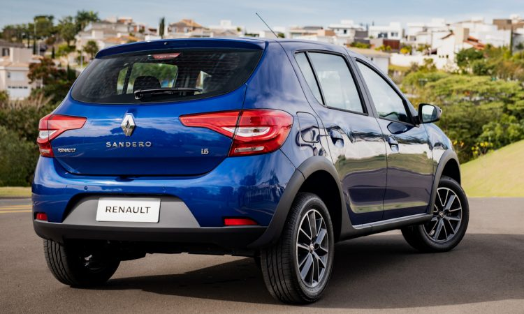 Renault Sandero [divulgação]
