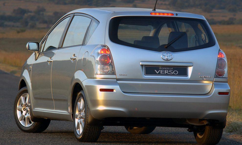 Toyota Corolla Verso [divulgação]