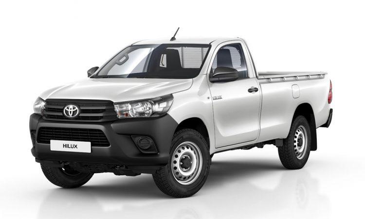Toyota Hilux Cabine Simples [divulgação]
