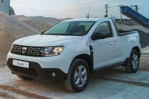 Dacia Duster picape [divulgação]