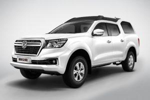 Dongfeng Palaso é derivado da Nissan Frontier [divulgação]