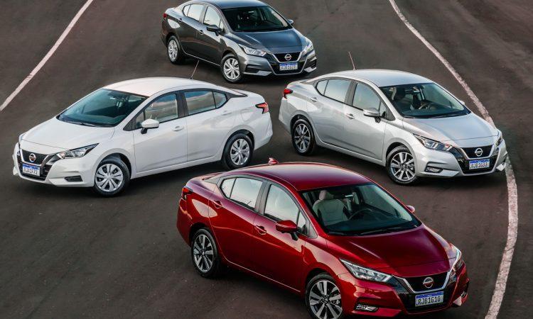 Nissan Versa 2021 [divulgação]