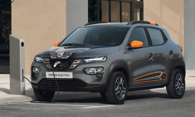 Dacia Spring, o Renault Kwid elétrico [divulgação]