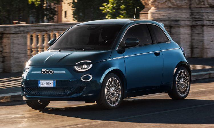 Fiat 500 elétrico [divulgação]