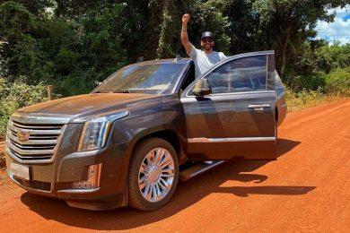 Cadillac Escalade de Gusttavo Lima [reprodução]