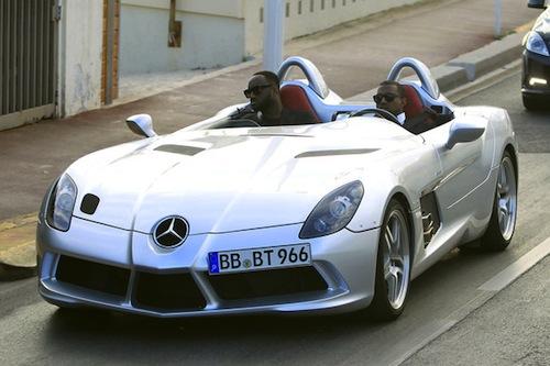 Mercedes-Benz SLR Stirling Moss de Kanye West [reprodução]