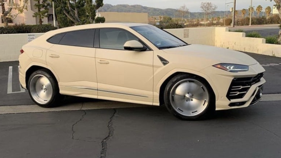 Lamborghini Urus de Kanye West [reprodução]