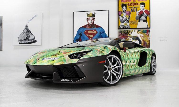 Lamborghini Aventador SVJ de LeBron James [divulgação]