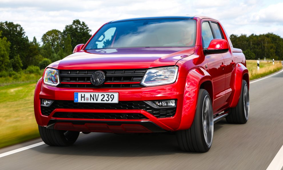 Volkswagen Amarok V6 Red Rock [divulgação]
