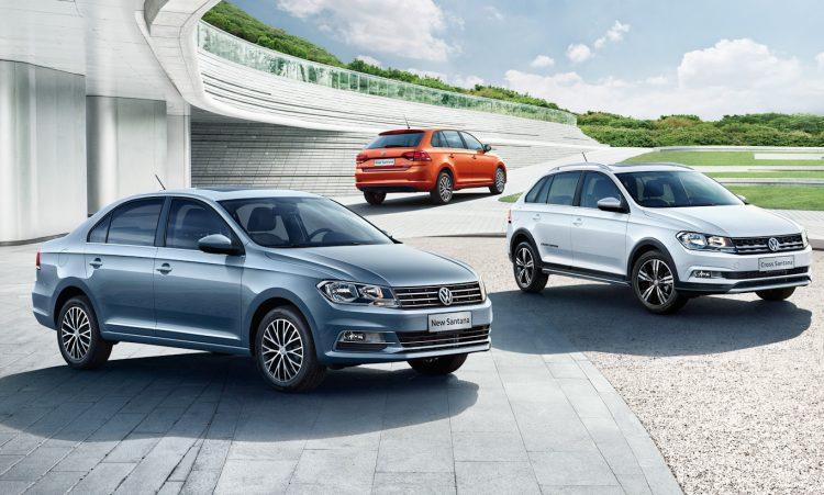 Volkswagen Santana 2021, Grand Santana 2021 e Cross Santana 2021 [divulgação]