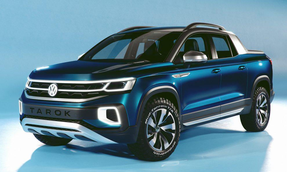 Volkswagen Tarok antecipava o Taos [divulgação]